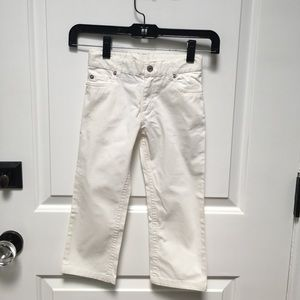 Baby Dior white jeans - size 3 yrs